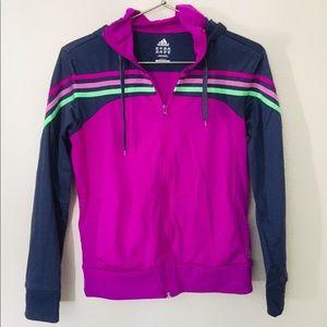 Adidas Pink/Magenta Track Jacket